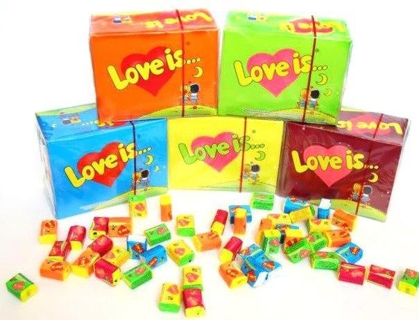 love is gum